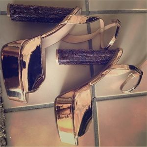 Copper Glam Sexy Sandals!!